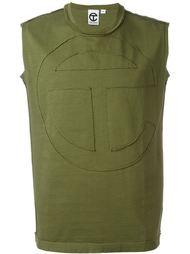cut logo tank Telfar