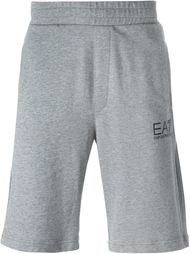 logo print sweat shorts Ea7 Emporio Armani
