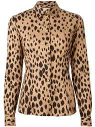 рубашка с леопардовым принтом Fausto Puglisi