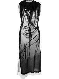 прозрачное платье Comme Des Garçons Vintage