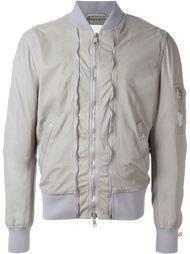 куртка-бомбер с декоративными молниями Neil Barrett