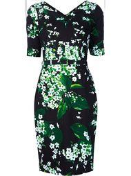 blossom print dress Samantha Sung