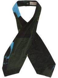 print scarf Yohji Yamamoto