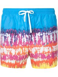 printed swim shorts Dsquared2 Beachwear