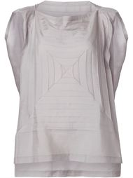 star pleats top Issey Miyake Cauliflower