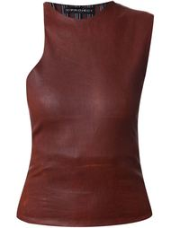 leather top Y / Project