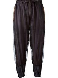 спортивные брюки с сетчатым слоем Kolor
