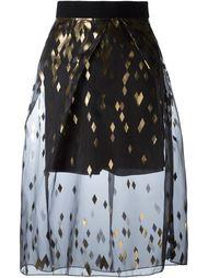 юбка с прозрачным верхним слоем Kolor