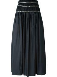 длинная юбка с присборенной талией Kolor