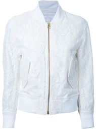 lace bomber jacket Cityshop