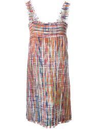 платье с плетеным эффектом Chanel Vintage