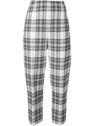 checked track pants Taro Horiuchi