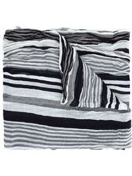 шарф в полоску Yohji Yamamoto
