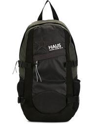 рюкзак с принтом логотипа Haus