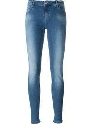 джинсы скинни с заклепками Blumarine