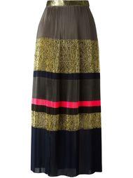 плиссированная длинная юбка Kolor