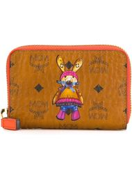 'Rabbit' zip around wallet MCM