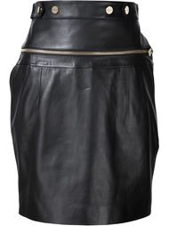 high-waisted zip detail skirt Alexandre Vauthier