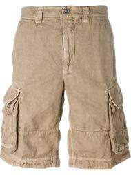 шорты-карго с карманами Incotex