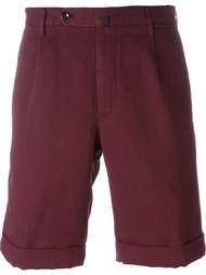 шорты со складками Incotex