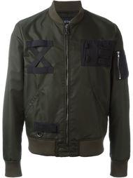 куртка-бомбер с карманом на молнии Letasca