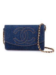 джинсовая маленькая сумка Chanel Vintage