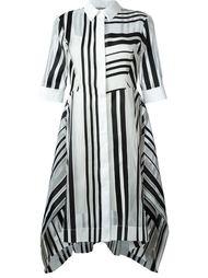 полосатое платье-рубашка Sportmax