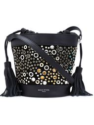 gems studded bucket shoulder bag Sonia Rykiel