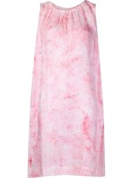 granite print halterneck dress Dosa