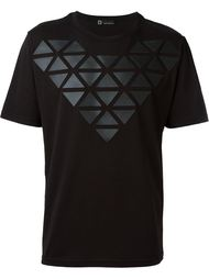 футболка с геометрическим принтом Giuliano Fujiwara