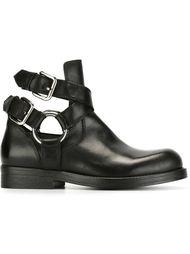 ботинки по щиколотку с ремешками Diesel Black Gold