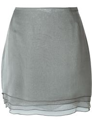 многослойная мини-юбка Romeo Gigli Vintage