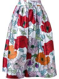 юбка с цветочным принтом   DressCamp