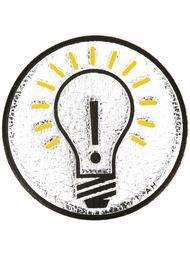 'Light Bulb' sticker Anya Hindmarch