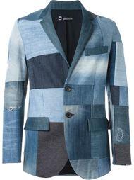 пиджак лоскутного кроя Giuliano Fujiwara