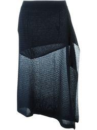 полупрозрачная трикотажная юбка Marques'almeida