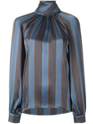 полосатая блузка Yves Saint Laurent Vintage