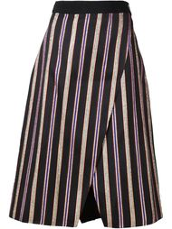 striped front slit skirt Maison Rabih Kayrouz