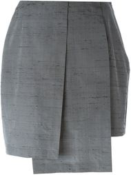 плиссированная многослойная юбка Gigli Vintage