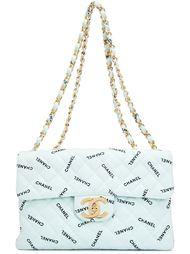 стеганая сумка на плечо 'Maxi Flap' Chanel Vintage