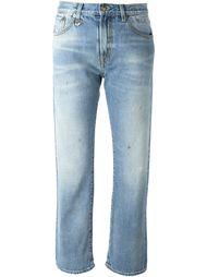 укороченные джинсы прямого кроя R13