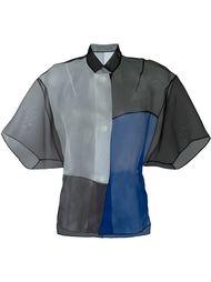 блузка свободного кроя  Demoo Parkchoonmoo