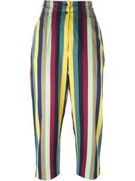 полосатые брюки Kenzo Vintage