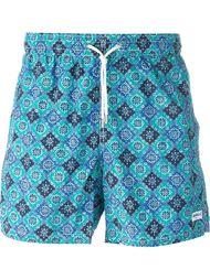 printed swim shorts Canali
