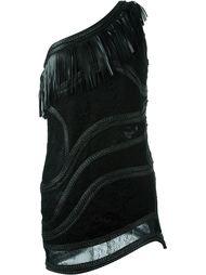 мини-платье с бахромой Amen