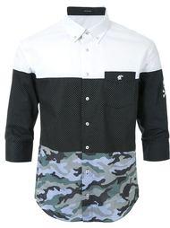 рубашка с комбинированным принтом Loveless