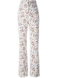 расклешенные брюки с завышенной талией Sonia Rykiel