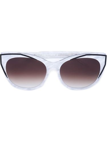 солнцезащитные очки в оправе 'кошачий глаз' Thierry Lasry