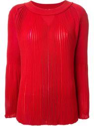 блузка с длинными рукавами в рубчик Sonia Rykiel
