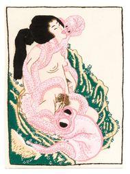 клатч с вышивкой  Olympia Le-Tan